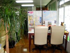 事務所内部です。